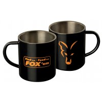 Fox nerezový hrnek Stainless Black Mug 400ml