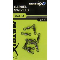 Fox Matrix Obratlík Barrel Swivels vel.18