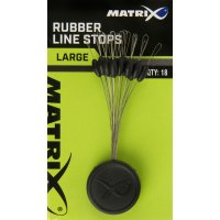 Fox Matrix zarážky Rubber Line Stops medium