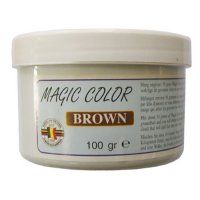 MVDE barva do návnad Magic Color Brown 100g