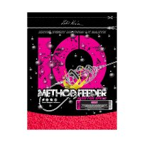 LK Baits IQ Method Feeder Speed Fluoro Pellets 600g Cherry 2mm