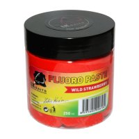 LK Baits Boilie Paste Fluoro Wild Strawberry 250ml