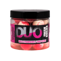 LK Baits DUO X-Tra Fresh Boilies Wild Strawberry-Carp Secret 18mm 200ml