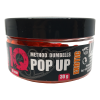 LK Baits IQ Method Dumbels Pop-Up 10mm, 30g Exotic