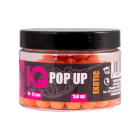 LK Baits IQ Method Feeder Pop Up Fluoro Boilies 10-12mm,150 ml Exotic