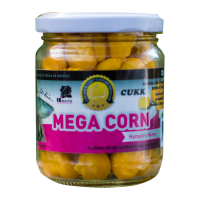 LK Baits obří kukuřice Mega Corn Hungary Honey 220ml