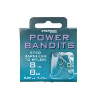Drennan návazce Power Bandits Barbless vel. 10 / 8lb