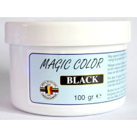 MVDE barva do návnad Magic Color Black 100g