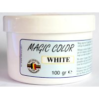 MVDE barva do návnad Magic Color White 100g