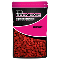 LK Baits Euro Economic Pellets Spice Shrimp 1kg, 12-17mm
