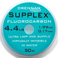 Drennan vlasec Supplex fluorocarbon 50m 8,0lb 0,25mm