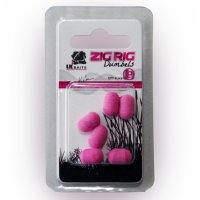 LK Baits ZIG RIG Dumbels Pop–Up – Pink