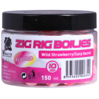 LK Baits Zig Rig Boilie Wild Strawberry/Carp Secret 10mm, 150 ml